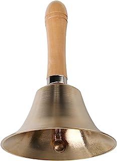 Super Loud Solid Brass Hand Call Bell