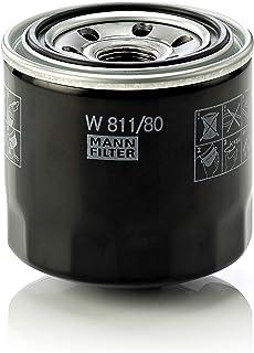 Original MANN-FILTER Filtro do Óleo W811/80