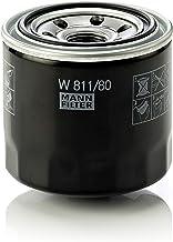 MANN-FILTER W 811/80 Original Filtro de Aceite, para automóviles y vehículos de utilidad