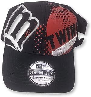 New Era ミネソタ・ツインズ 39Thirty 大人用 フレックスフィット メンズ キャップ 帽子 M/L