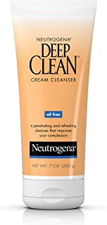 Neutrogena Deep Clean Cream Cleanser, 200g