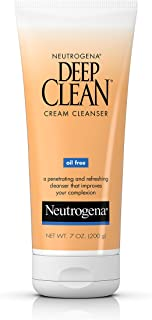 Neutrogena Deep Clean Cream Cleanser, 200g