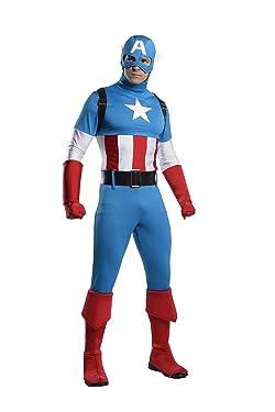 Captain America Marvel Comics Costume for Men