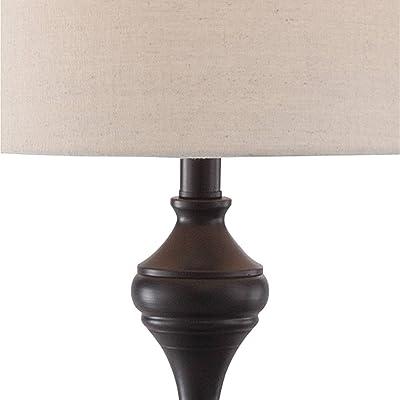 Ikea Alang Floor Lamp Nickel Plated White Amazon Com