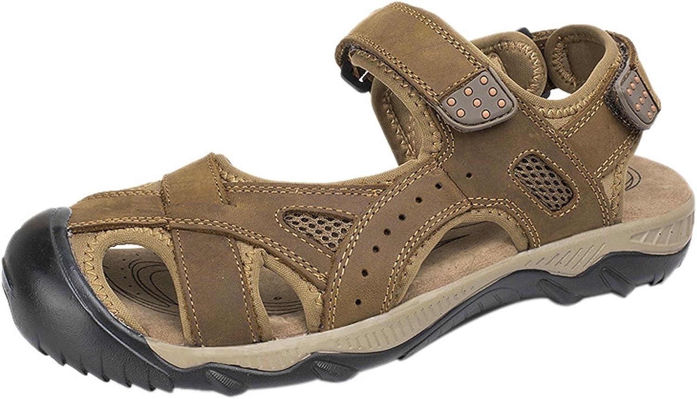 SK Studio Men's Leather Walking Sandals