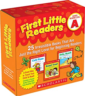 First Little Readers: Guided Reading Level A: 25 Irresistible Books That Are Just the Right Level for Beginning Readers