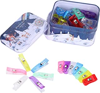 Sewing Clips, Craft Clips, 40Pcs Quilting Supplies Sewing Fabric for Sew Binding Crafts