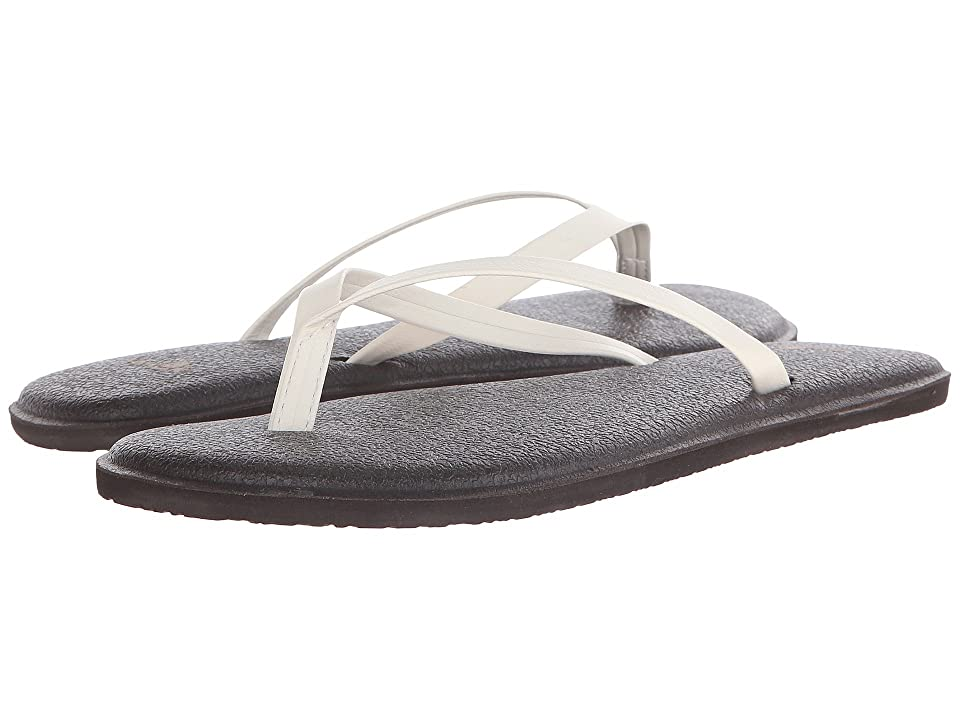 Sanuk Yoga Bliss (Ivory) Women
