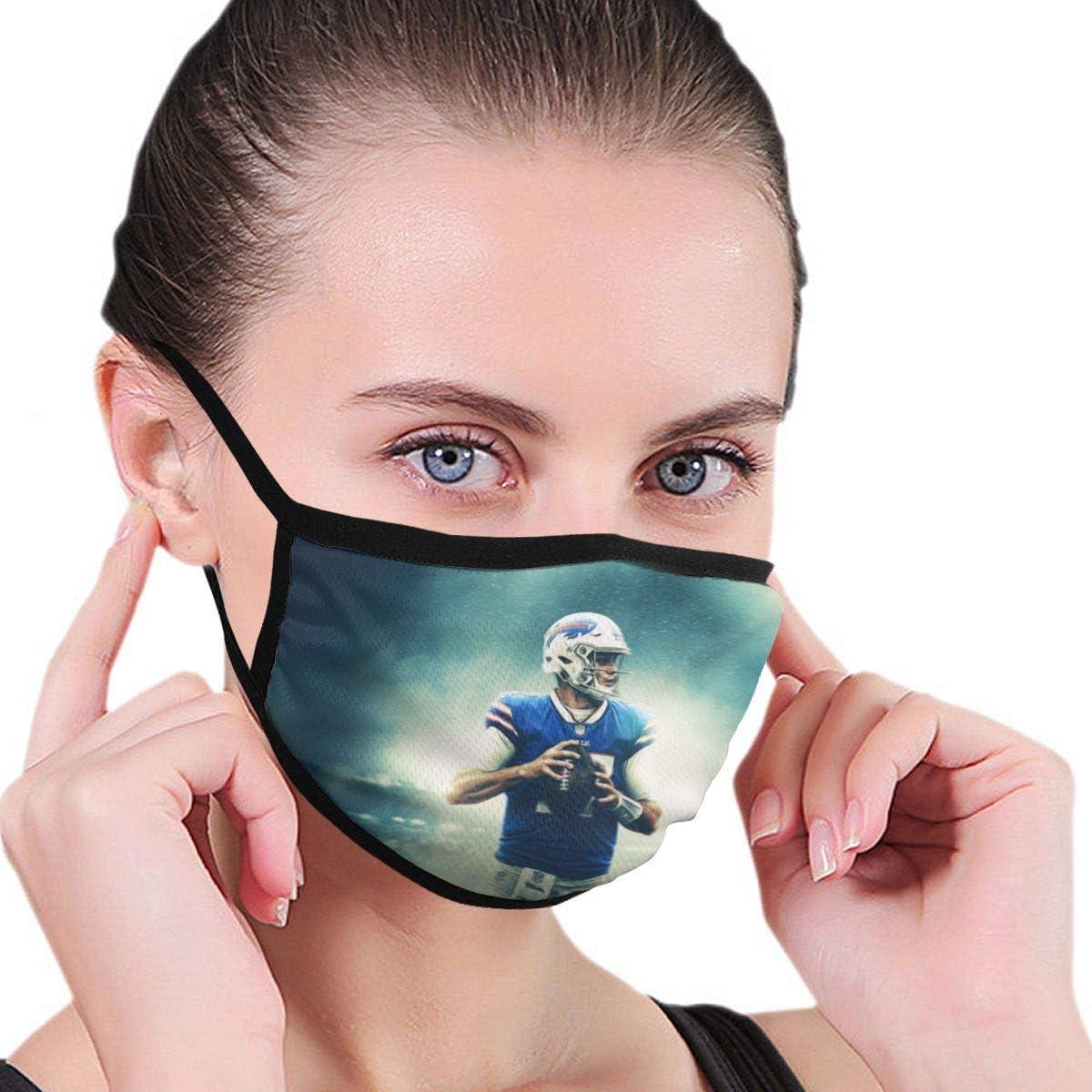Amazon Com Josh Allen Washable Breathable Unisex Face Mask Dustproof Mouth Mask Black Clothing