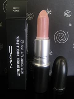 Mac Lustre Lipstick Pretty Please 1 unidad