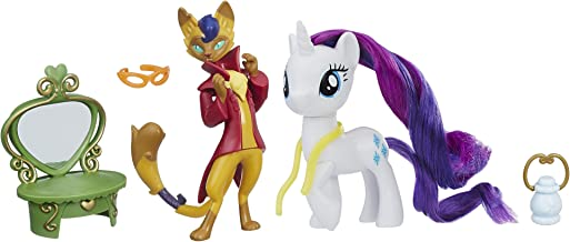 My Little Pony: The Movie Rarity & Capper Dapperpaws Styling Friends Set