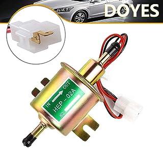 Bomba de combustible eléctrica de 12 V de transferencia universal, bomba de combustible en línea de baja presión, bomba de...