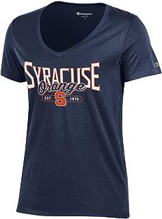 NCAA Women's University Short Sleeve Tag less Lady's V Neck Tee