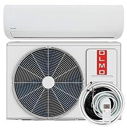 OLMO Alpic 9,000 BTU, 110/120V Ductless Mini Split AC/Heating System