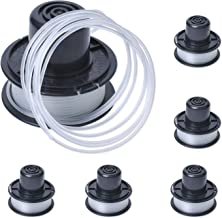 Poweka Trimmer String Line & Spool Compatible with Black+Decker Replace GL250, GL310, GL360 Spools String Trimmers Tool (P...