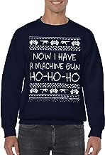 SpiritForged Apparel Now I Have A Machine Gun HO HO HO Unisex Crewneck Sweater