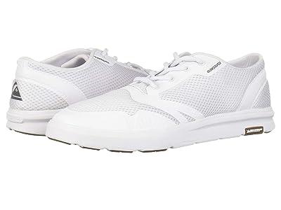 Quiksilver Amphibian Plus (White/White/White) Men