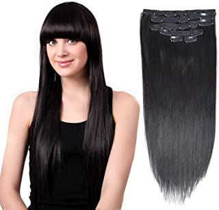 Best red human hair clip in extensions Reviews