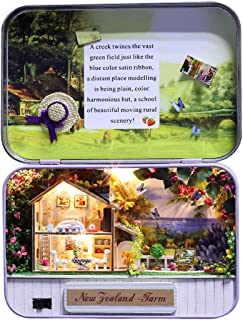 PeleusTech Box Theater Kit DIY 3D Case Dollhouse Mini Dollhouse Gift for Kids, Friends