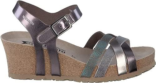 Sandalen Sandaletten, Farbe Metallic-Farbe, Marke, Modell Sandalen Sandaletten Lanny Star Metallic-Farbe