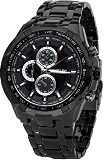 Curren Dress Watch for Men, Analog, Stainless Steel B and