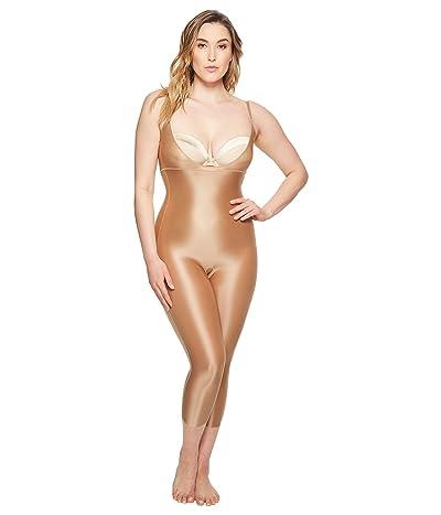 Spanx Suit Your Fancy Open-Bust Catsuit (Broadway Beige) Women