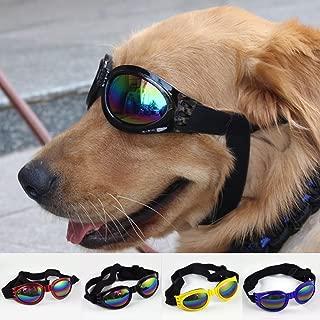 ペット犬の防風メガネUVサングラス保護眼鏡ファ