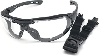 Óculos SOL Proteção ESPORTIVO STEELFLEX ROMA INCOLOR Esportivo AIRSOFT Teste Balístico Paintball Resistente A Impacto Cicl...