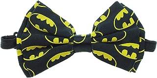 Batman Symbols Bow Tie, Black, One Size