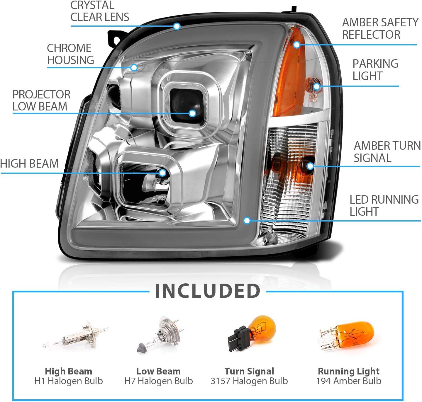Light & Lighting Accessories Passenger and Driver Side AmeriLite ...