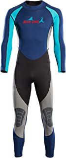 MOVEONE 2mm Neoprene Wetsuit, Full Body Cover Dive Suit Rash Guard UV Protection Thermal for Diving/Scuba/Snorkeling/Swimm...