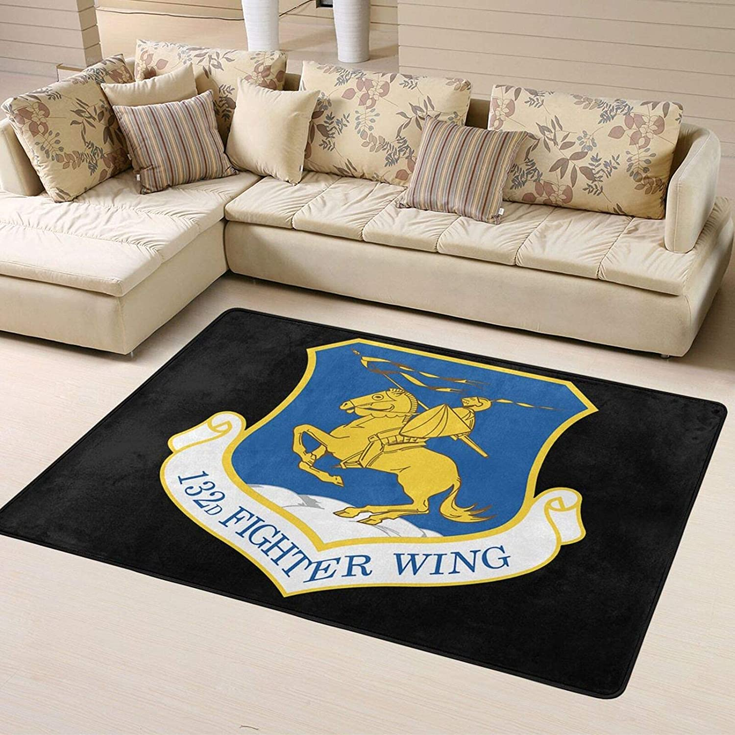 Omaha Mall U.S. Air Force 132nd Fighter Wing Soft R Super Home Max 58% OFF Personalized