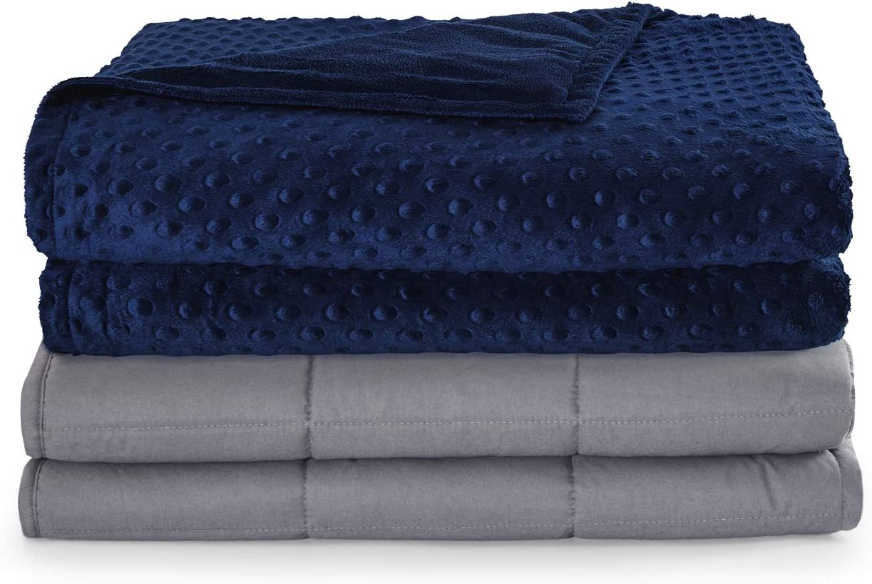 Seward gift Park Weighted Blanket Plus 5lb S Single Finally resale start Removable Cover