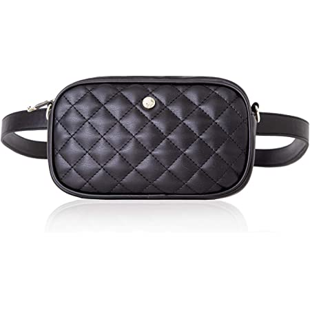 Leather Fanny Pack Black Leather Cross body purse