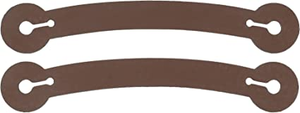 Sold in Pairs Spur Tie Down Straps Small//Medium - Black