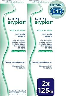 Eryplast Lutsine E45 - Pasta al Agua Crema Pañal Bebé 2 x 125 ml
