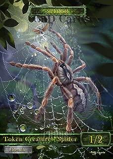 3x Spider #2 Custom Altered Tokens MTG (for Ishkanah, Grafwidow) Eldritch Moon