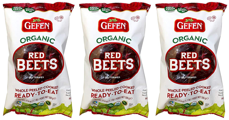Gefen Max 49% OFF organic beets 3 17.6 pack Large discharge sale oz of 2