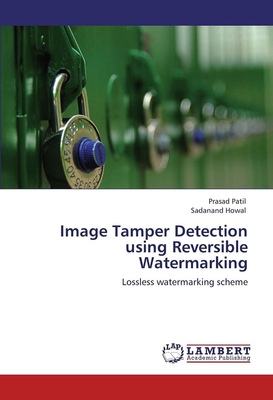 半ば蓄積する図Image Tamper Detection Using Reversible Watermarking