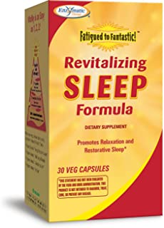 Enzymatic Therapy Fatigued to Fantastic! Revitalizing Sleep, 30 Capsules