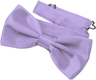 aa8abdf70b86 DonDon mens classy bow tie pre tied and adjustable different colors  available