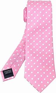 Men's Classic Polka Dot Ties Jacquard Woven Casual Handmade Daily Formal Necktie