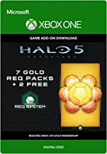 Halo 5: Guardians: 9 Gold REQ Packs - Xbox One Digital Code
