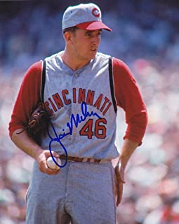 Jim Maloney Signed Photograph - 8x10 - Autographed MLB Photos
