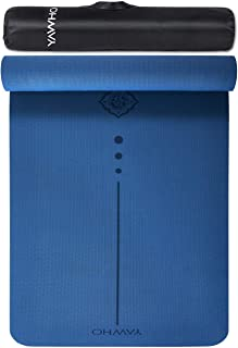 YAWHO Yoga Mat Fitness Mat Specifications 72'' x 26'' Thickness 1/4-Inch Eco Friendly Material SGS Certified Ingredients TPE Extra Large Non-Slip Exercise Mat with Carry Bag