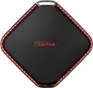 SanDisk Extreme510 ポータブルSSD 480GB 防滴・塵タイプ [国内正規品]メーカー3年保証付 SDSSDEXTW-480G-J25
