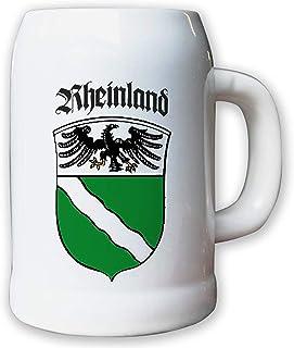 Bierkrug 0,5l FschJgBtl 251 Fallschirmjägerbataillon Calw Wappen #16365