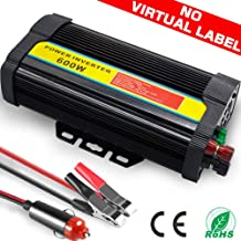 TINTON LIFE Peak 1200W Heavy Duty Modified Sine Wave 12V DC To 110V AC Power Inverter