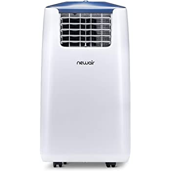 NewAir, AC-14100E, Portable Air Conditioner and Fan, 14000 BTU, 525 Square Foot Effective Range, Standard, White