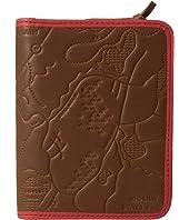 Fossil RFID Zip Around Passport Case